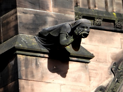 Gargoyles protecting the Cathedral