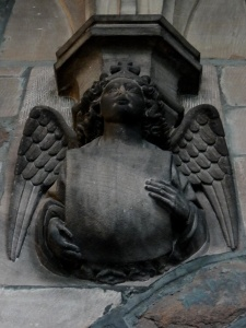 Angel inside the Cloisters