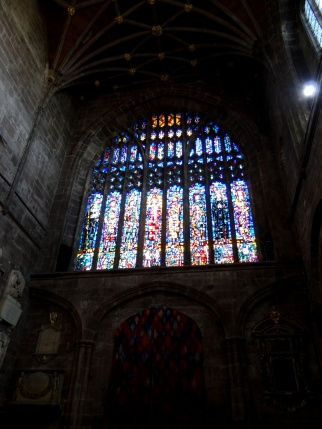 The Nativity Window in the Chapel of St Werburgh, by Michael O'Connor (1853)