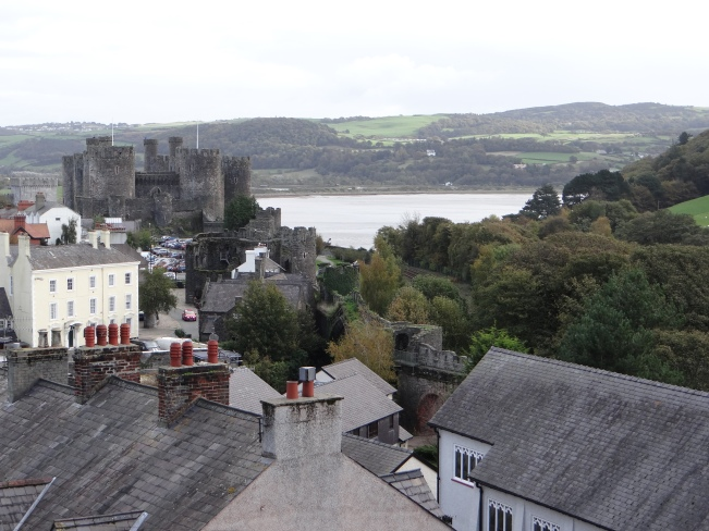 View of Conwy Tower from the Tower