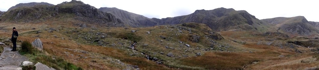 The spectacular hanging valley of Cwm Idwal