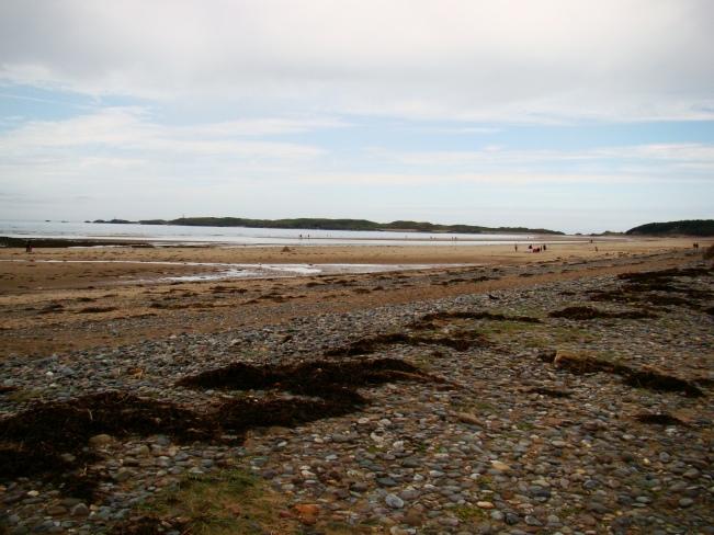 the beach of Newborough