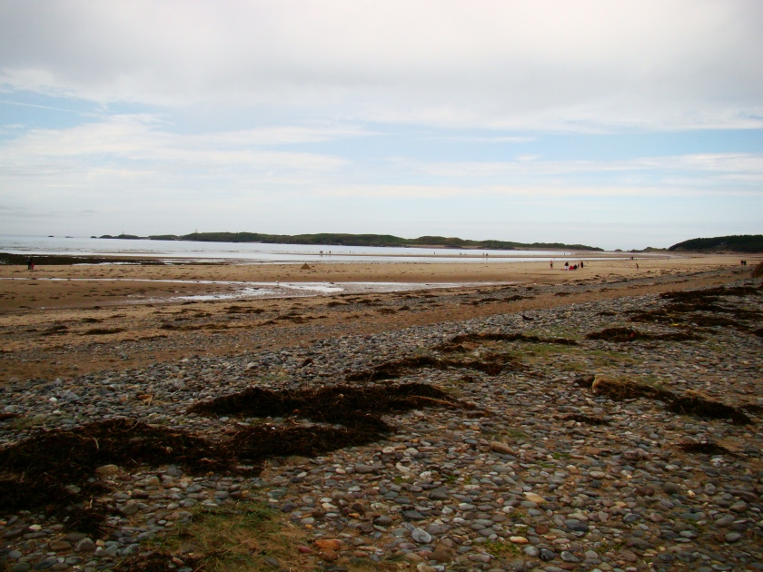 the beach of Newborough