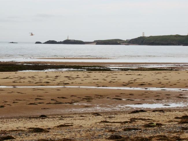 The beautiful Newborough beach
