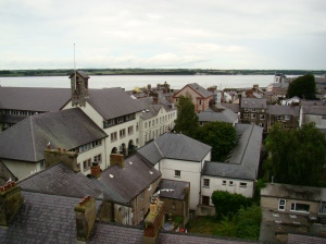 Caernarfon in North West Wales