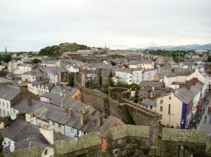 Caernarfon in North West Wales