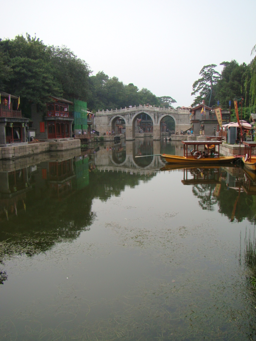 The old town with all its canals