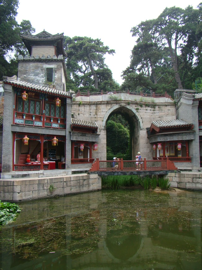 It was built as an exact copy of Shantang Steet for the Empress Dowager,