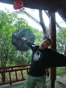 Braving the Typhoon!