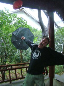 Braving the Typhoon!
