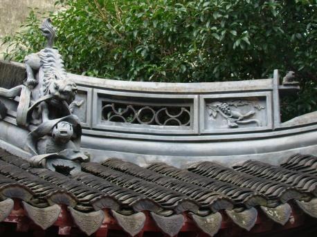 Yu Yuan Gardens in Shanghai