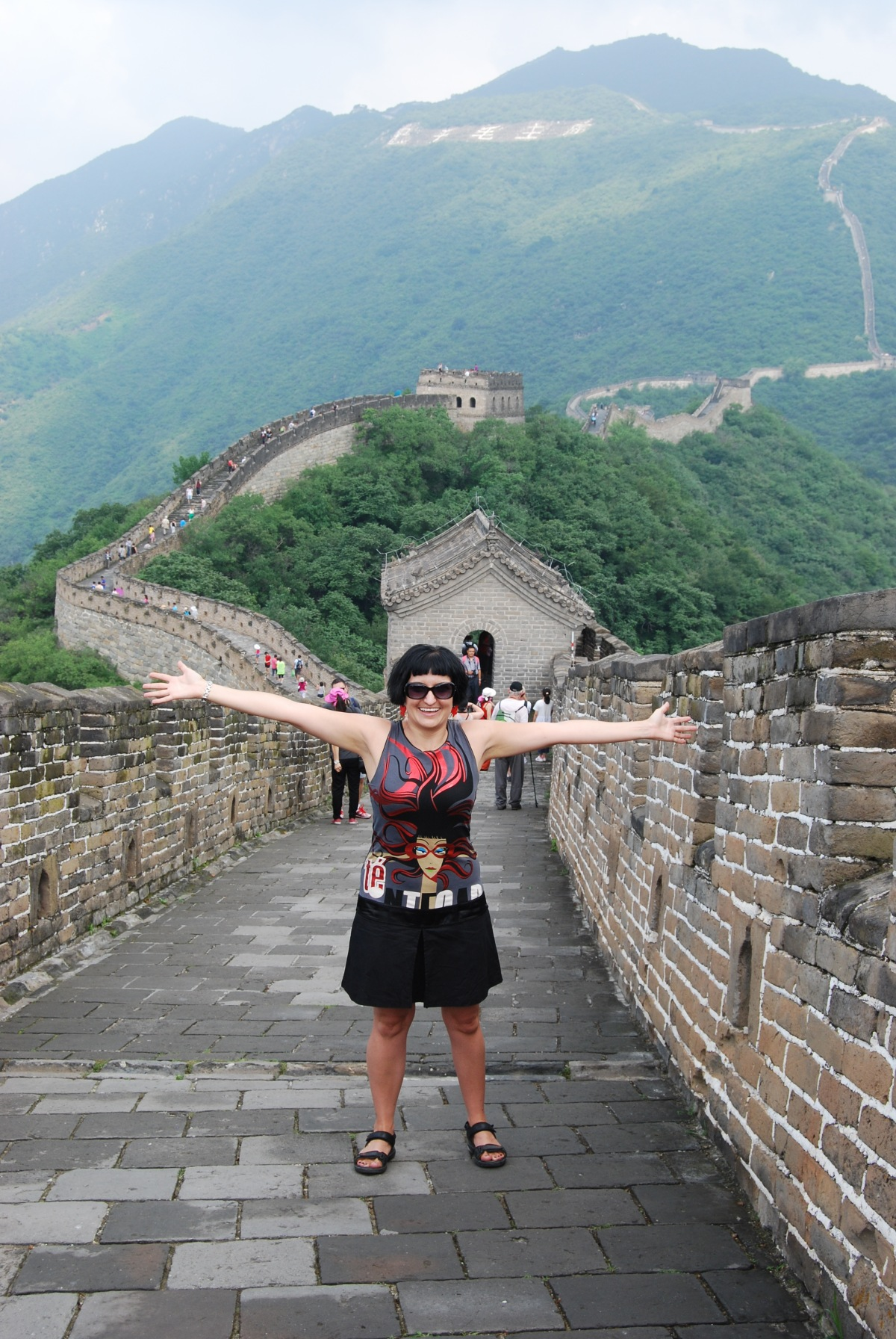 Standing and Walking on The Great Wall of China!!