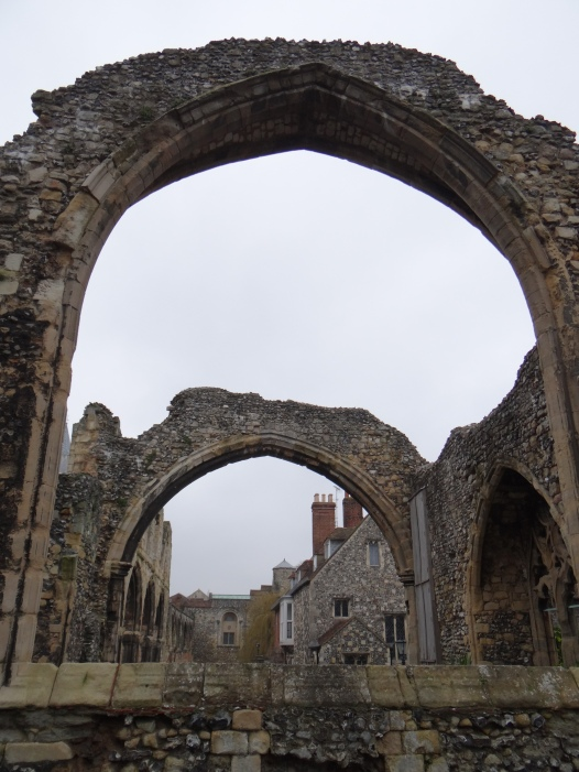 The ruins of St Augustine's Abbey