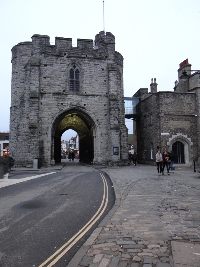 The Westgate is the largest surviving city gate in England.