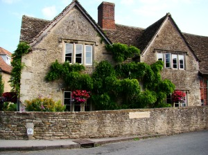 Lacock village