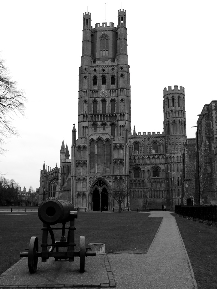 "Ely Cathedral one of the ""Seven Wonders of the Middle Ages"""