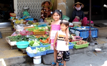 The colourful Markets of Vietnam