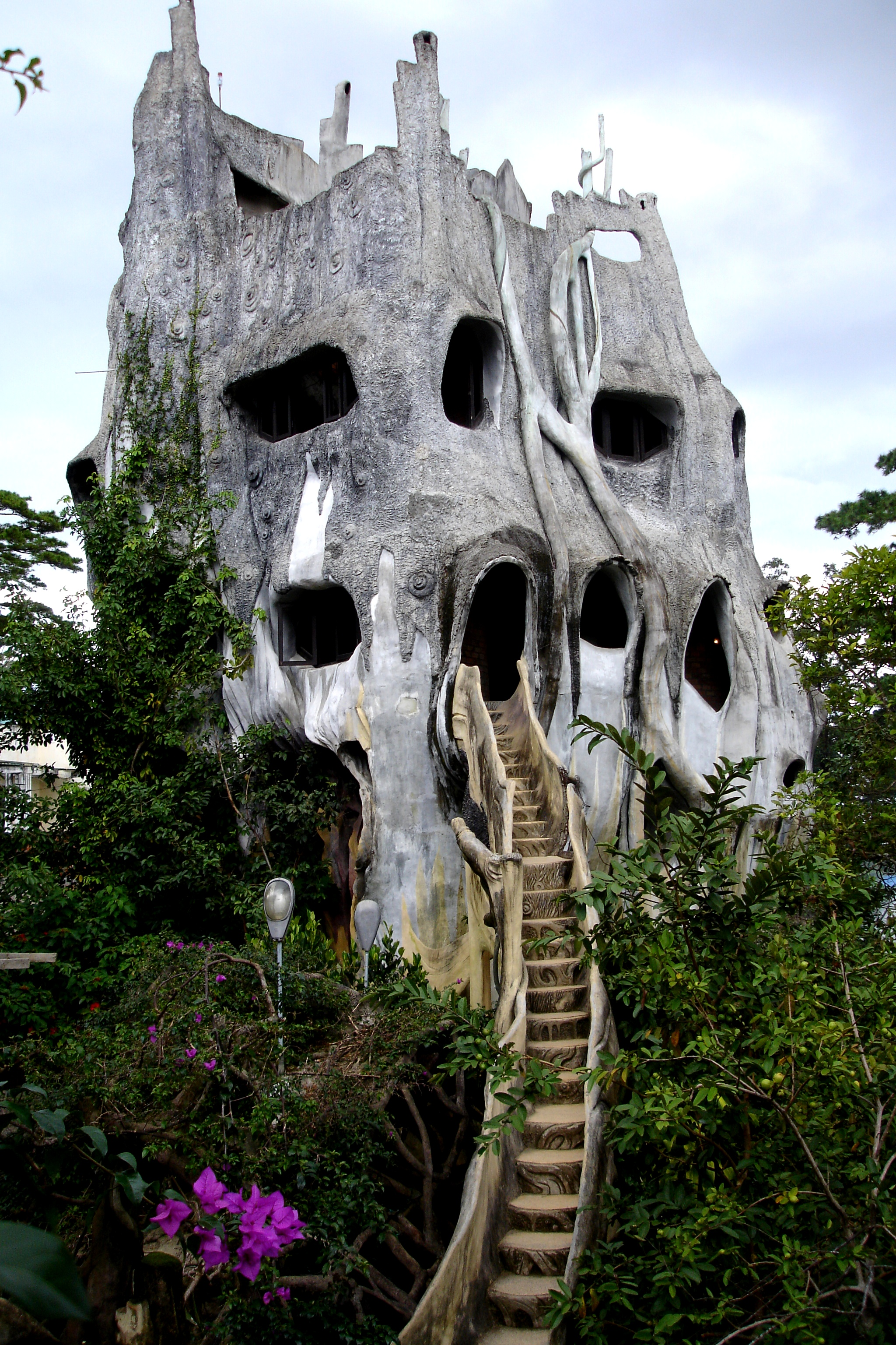 The Crazy House of Vietnam was my favourite place to explore ...