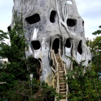 The Crazy House of Vietnam was my favourite place to explore!!