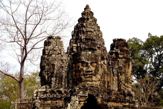 Entrances to Angkor Thom