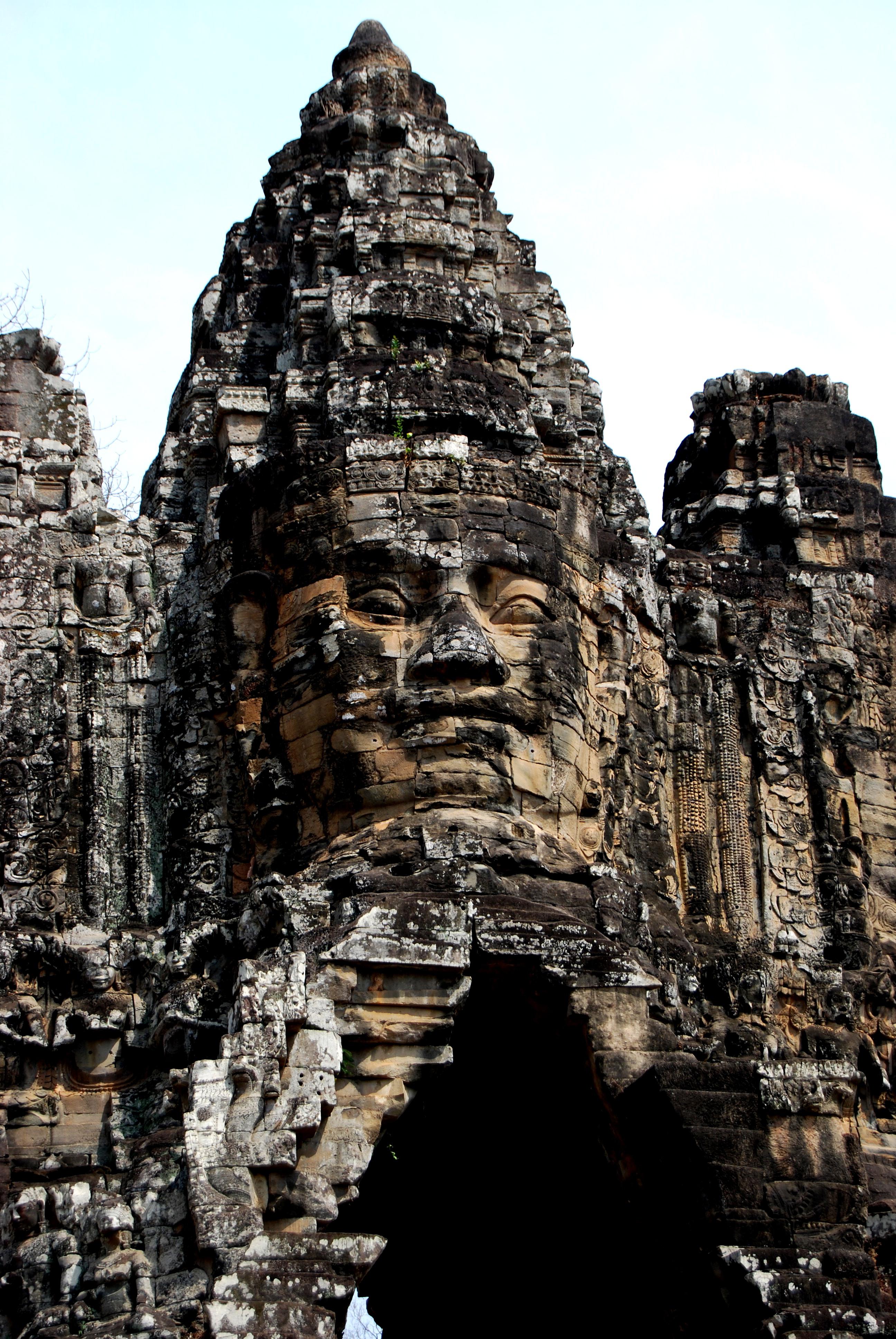 The Grandiose Entrances to Angkor Thom