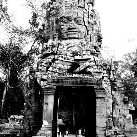 The Grandiose Entrances to Angkor Thom