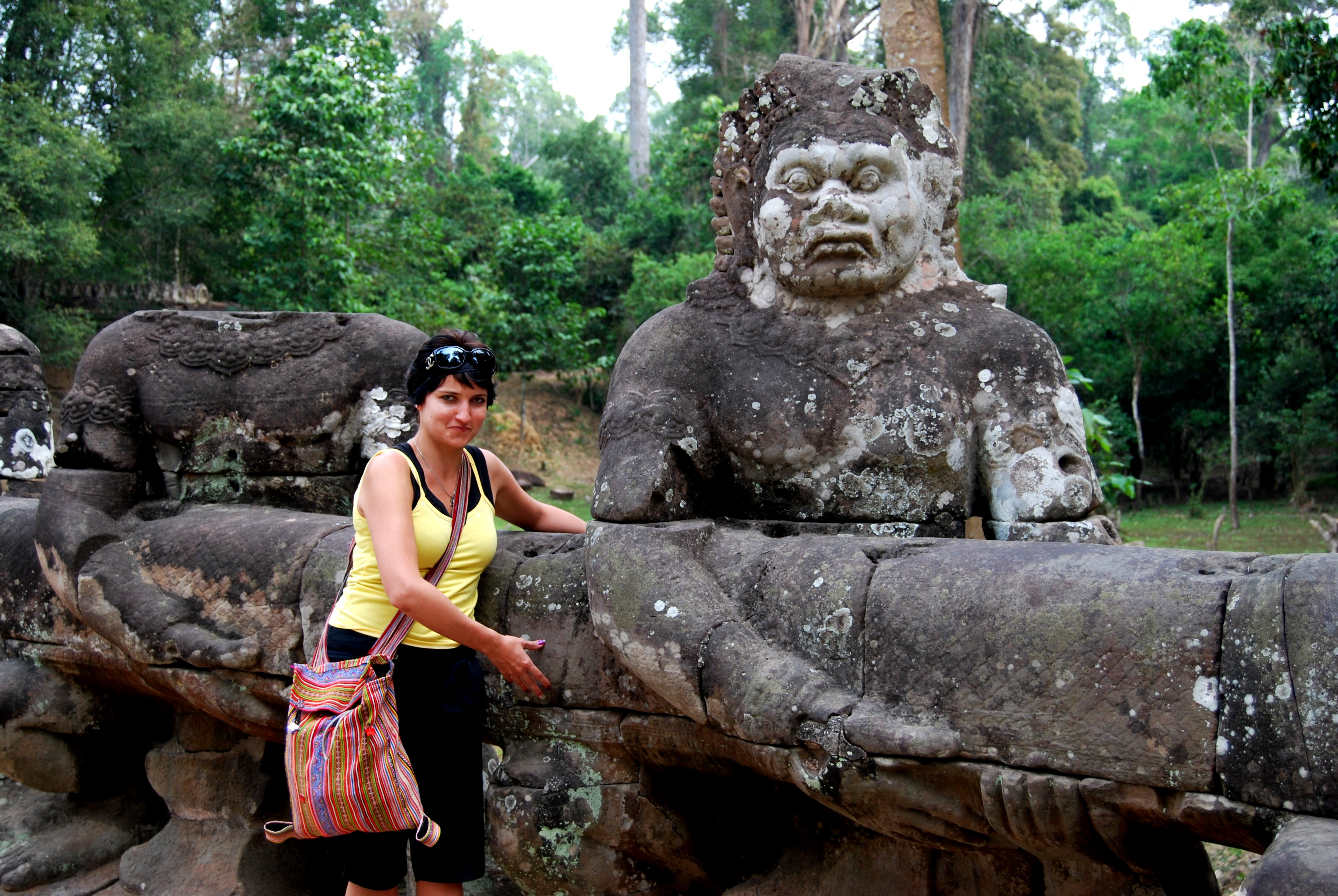 The Protecting Devas of Angkor Thom