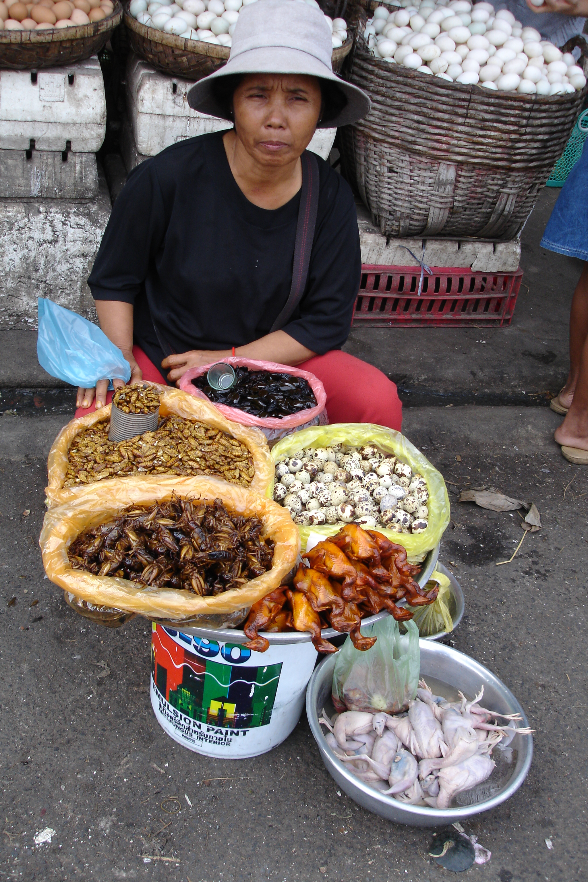 Cambodian Food Market is a Colourful, Noisy and Smelly Asault on the Senses