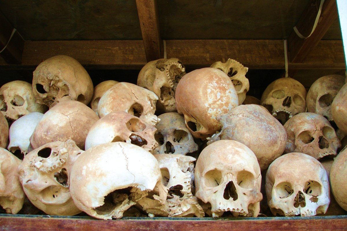 The shocking Mass Grave filled Killing Fields of PhnomPehn