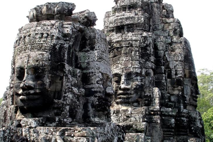 Giant stone Faces of Bayon