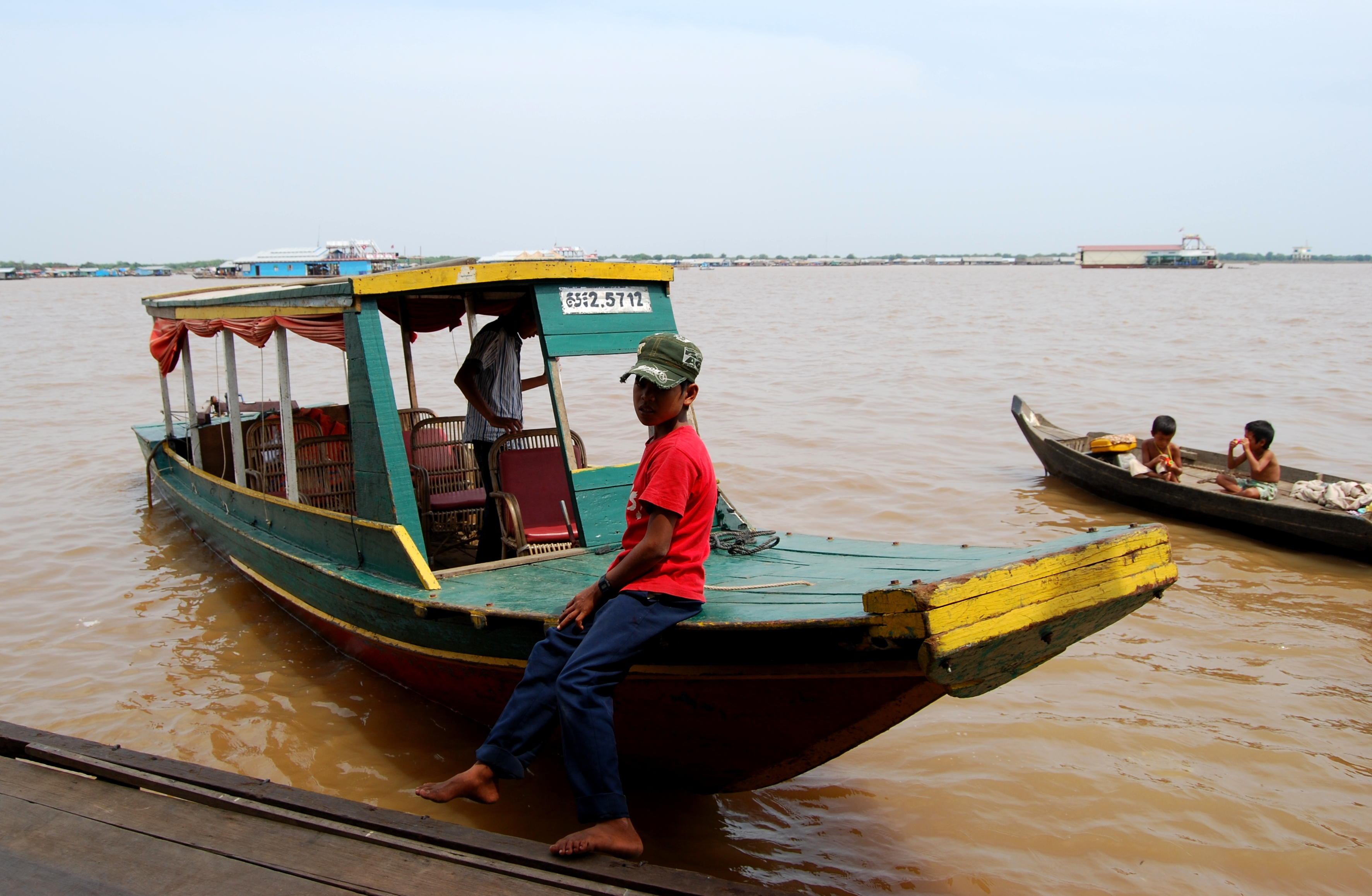 Giant water snakes and Floating Villages of Siem Reap