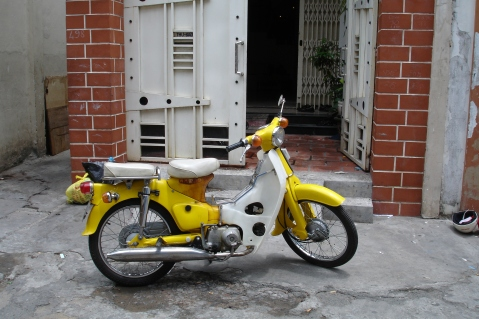 Riding a Motorbike through the Streets of Ho Chi MinhRiding a Motorbike through the Streets of Ho Chi Minh