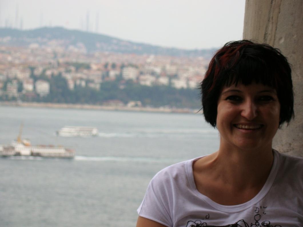 Beautiful views over the Bosphorus in Turkey