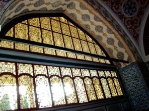 The Golden Window inside the Kubbealtı