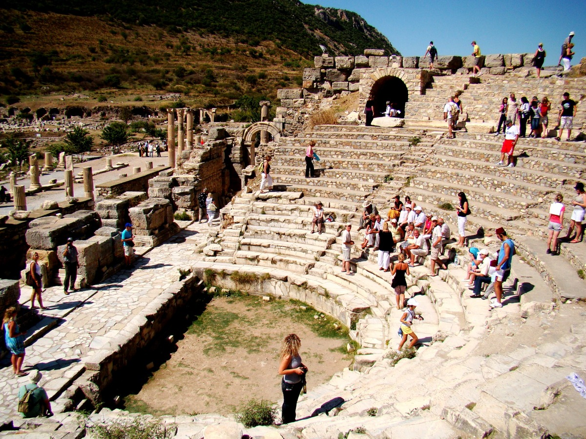 The largest outdoor theater of the AncientWorld