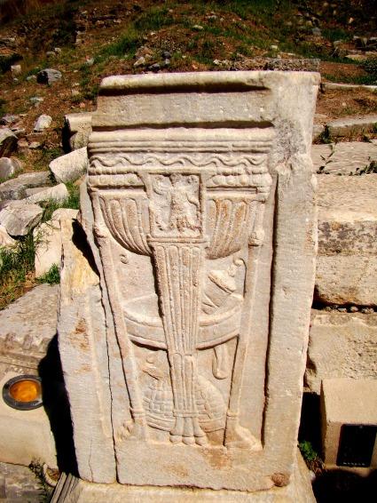 The city Ephesus