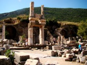 The city Ephesus