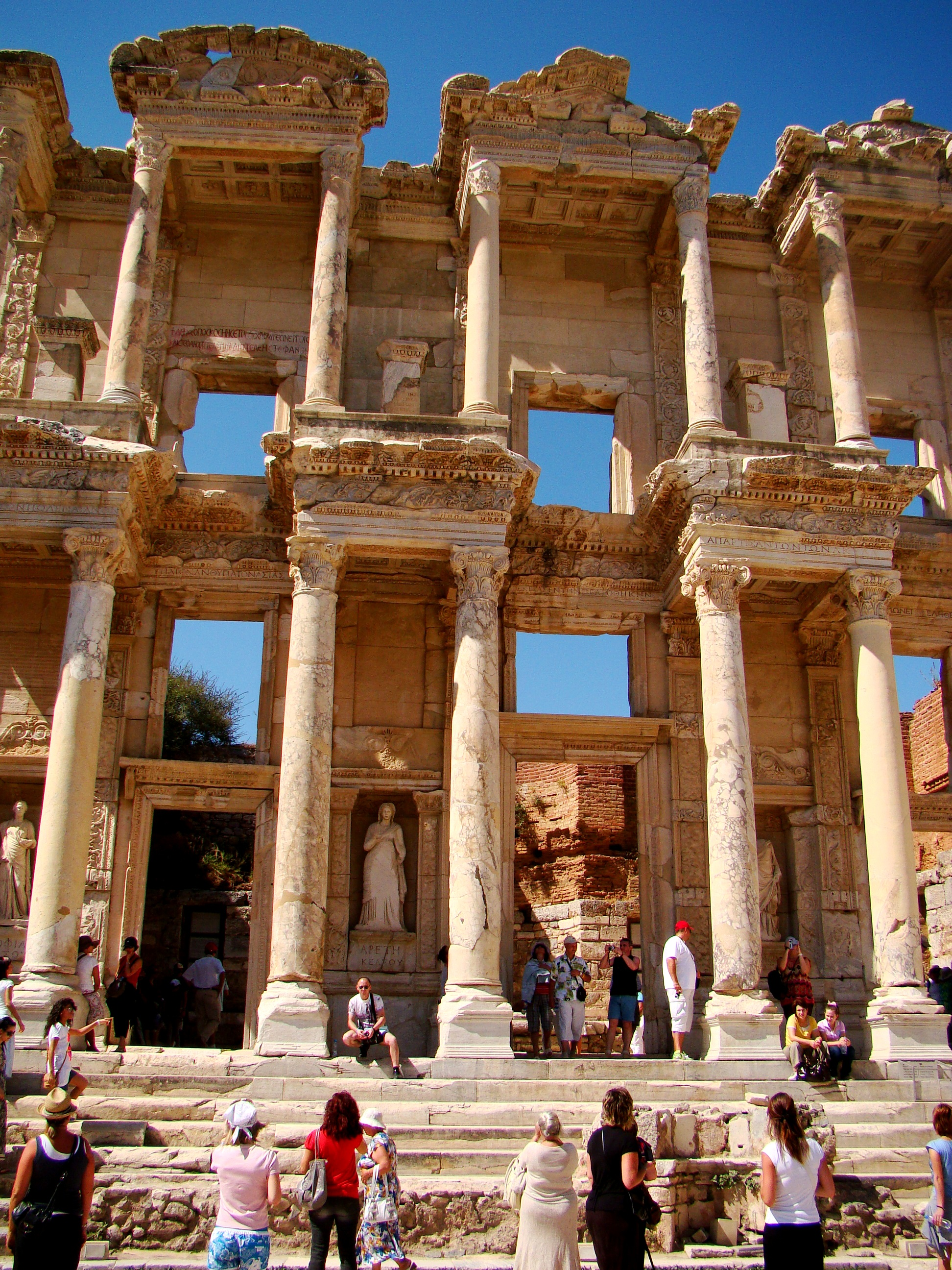 The Library of Celsus in Ephesus – Janalines world journey