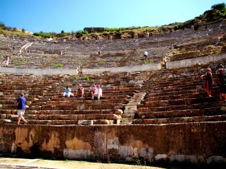 The largest outdoor theater of the Ancient WorldThe largest outdoor theater of the Ancient World
