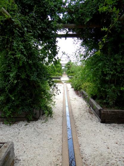 using flood irrigation