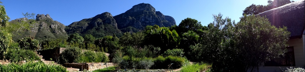 The eastern faces of Table Mountain dominate the skyline