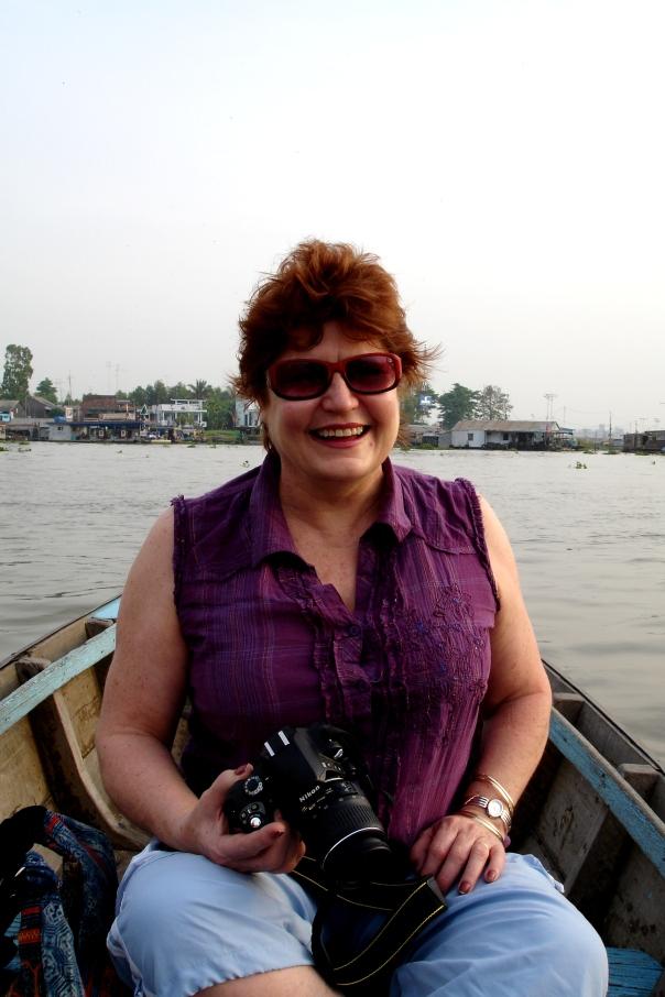 Sunrise on the Mekong River
