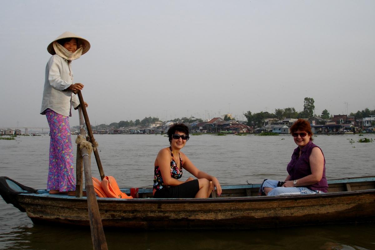 Sunrise on the MekongRiver