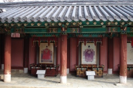 Temples in Jeonju, South Korea