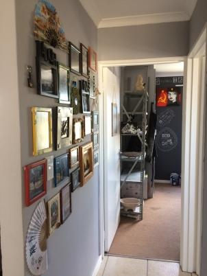 Created an art studio at home