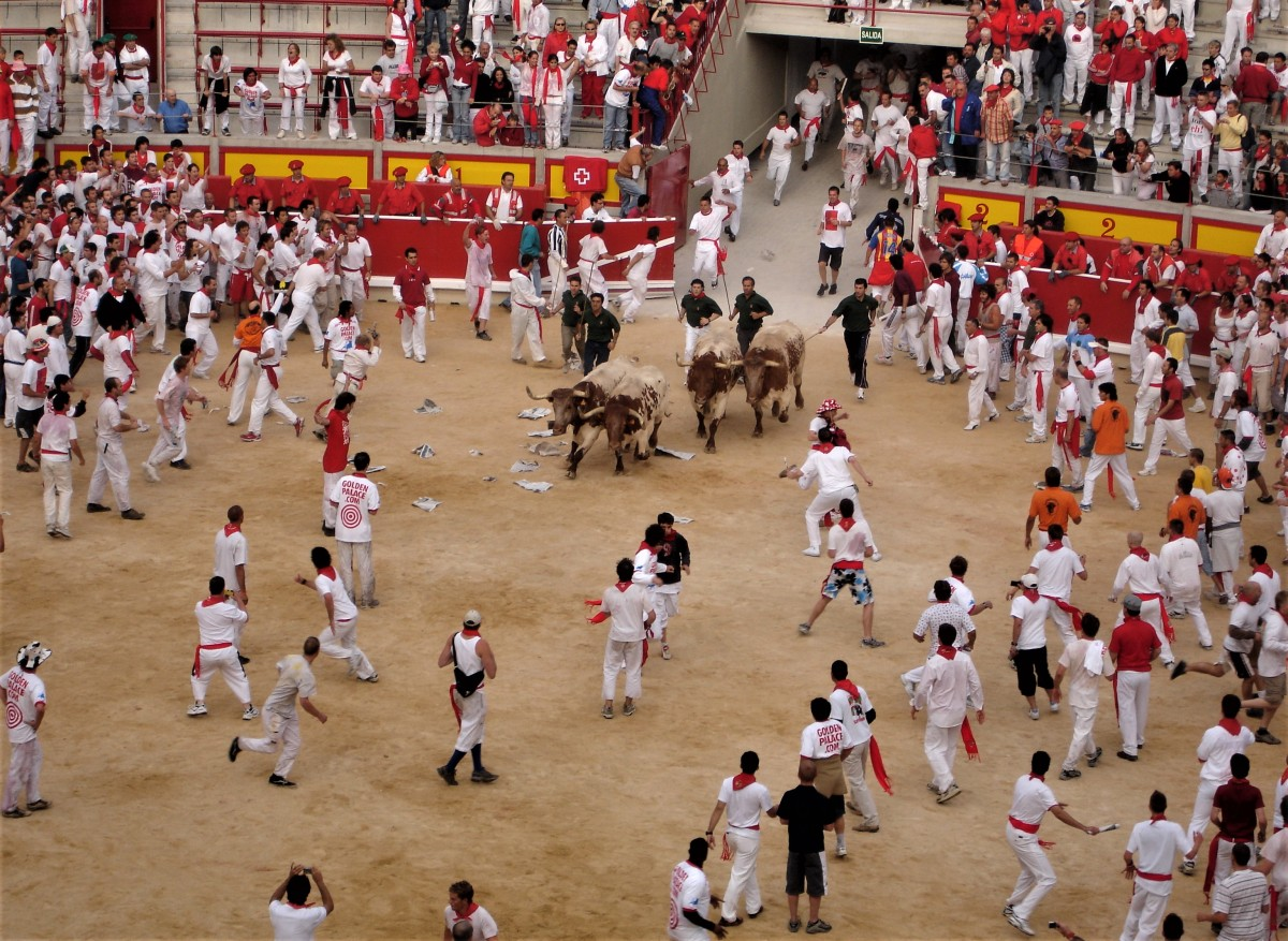 Think twice before running with theBulls