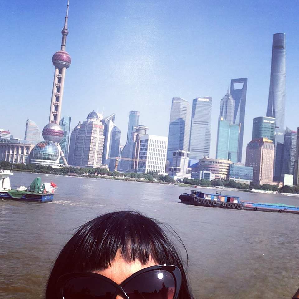 The famous Shanghai – Pudong skyline