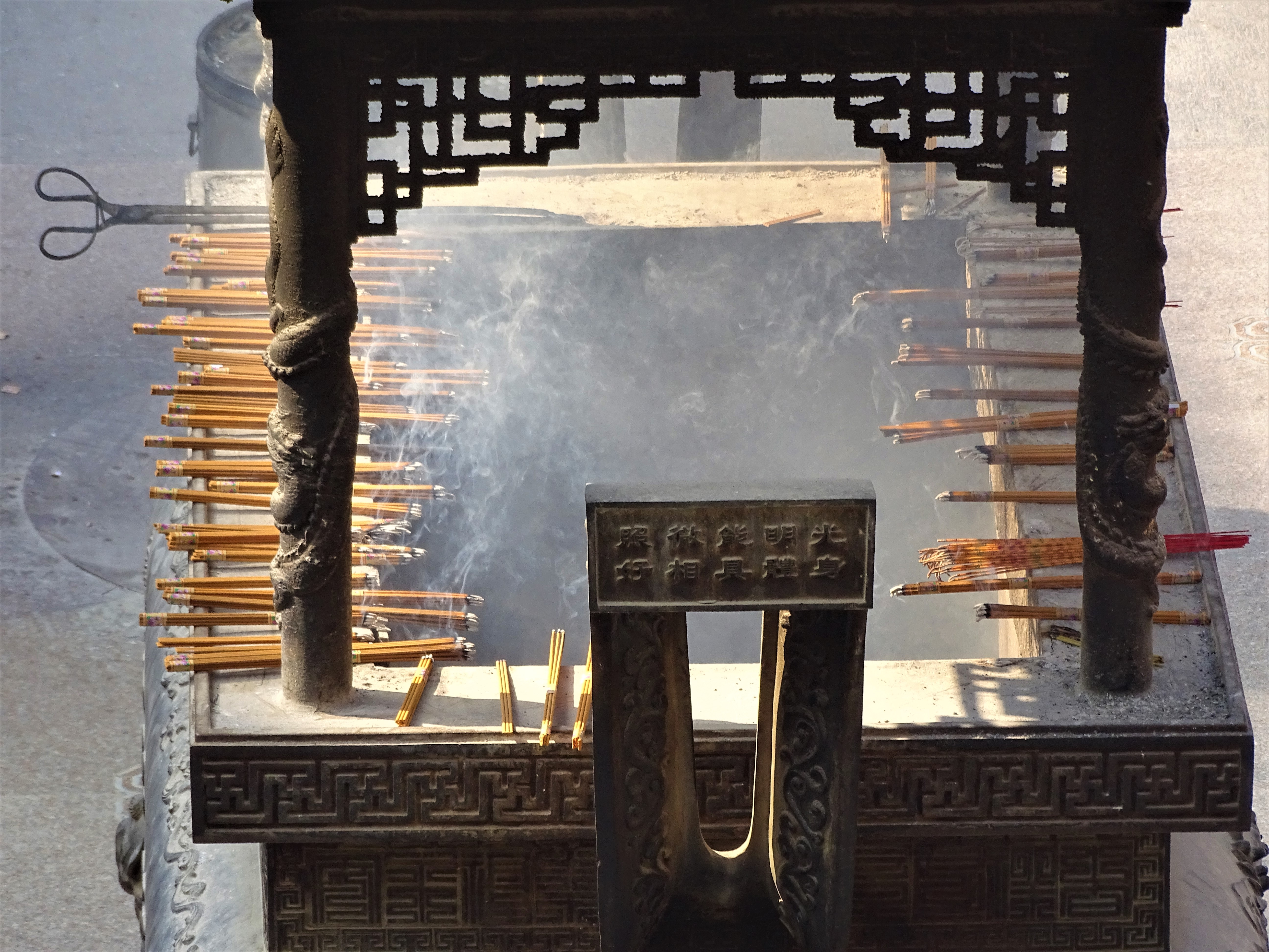 Ever wondered why people burn Incense at Temples in China