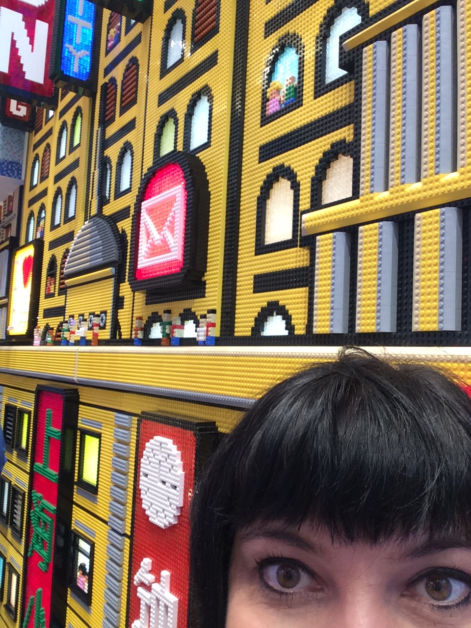 Lego built a city for the future in Shanghai